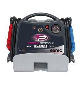 Sonic AC 12V 800CA Propulstation met oplaadstation voor garage/thu