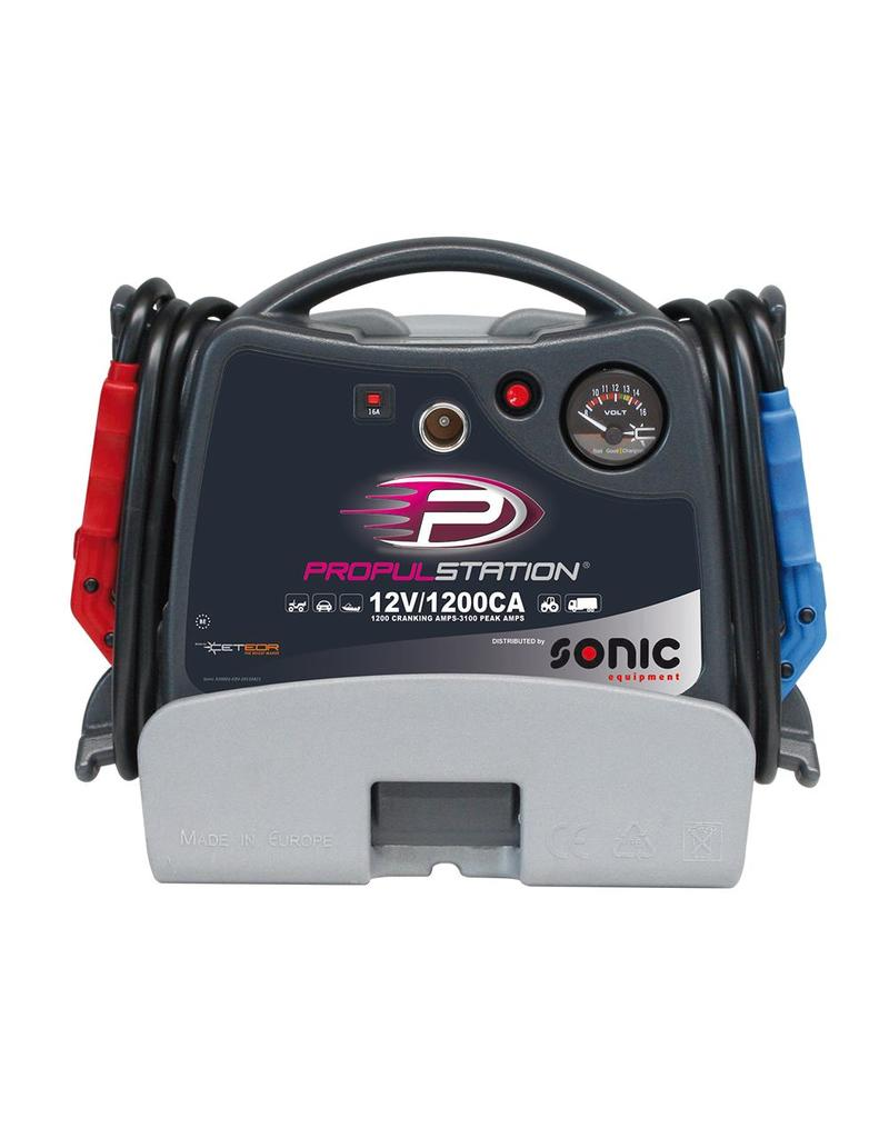 Sonic AC 12V 1200CA Propulstation met oplaadstation voor garage/th