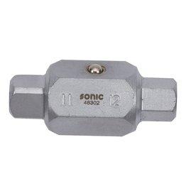 Sonic Carter sleutel 11mm (vierkant) x 12mm (Inbus)