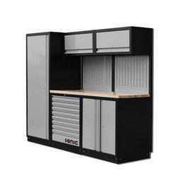 Sonic MSS 196 Cabinet gevuld met 285-dlg. gereedschapset