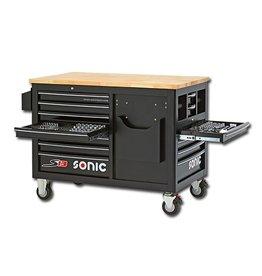 Sonic Gevulde gereedschapwagen 540-dlg. S13.