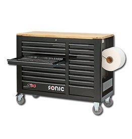 Sonic Gevulde gereedschapwagen 644-dlg. S14