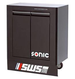 Sonic SWS 32`` Gereedschapwagen met 2 deuren zwart
