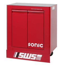 Sonic SWS 32`` Gereedschapwagen met 2 deuren rood