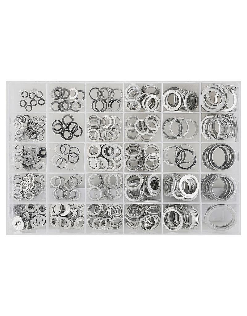 Sonic Assortiment aluminium dichtringen 300 stuks