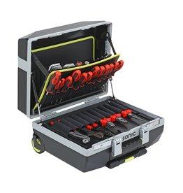 Sonic Gevulde koffer verrijdbaar 132dlg.