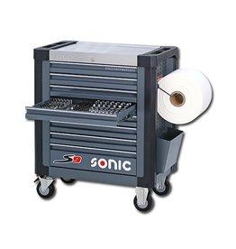 Sonic Gevulde gereedschapwagen SFS 1/3 S9 539-dlg.