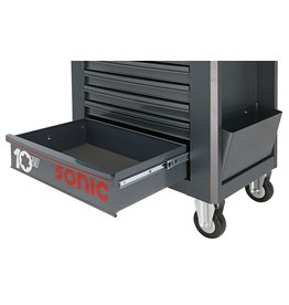 Sonic Grote lade zwart voor Anniversary gereedschapwagen (S10)