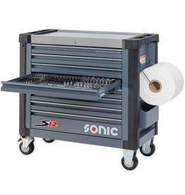 Sonic Gevulde gereedschapwagen S12 533-dlg.