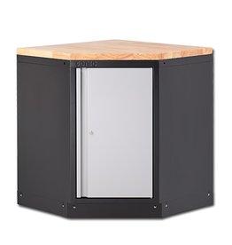 Sonic MSS 34`` Hoekkast met houten bovenblad
