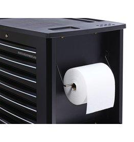 Sonic Papierrolhouder zwart (S10, S11, S13)