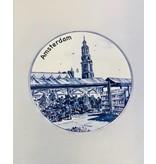 Stroopwafels in Blik Delftsblauw Amsterdam