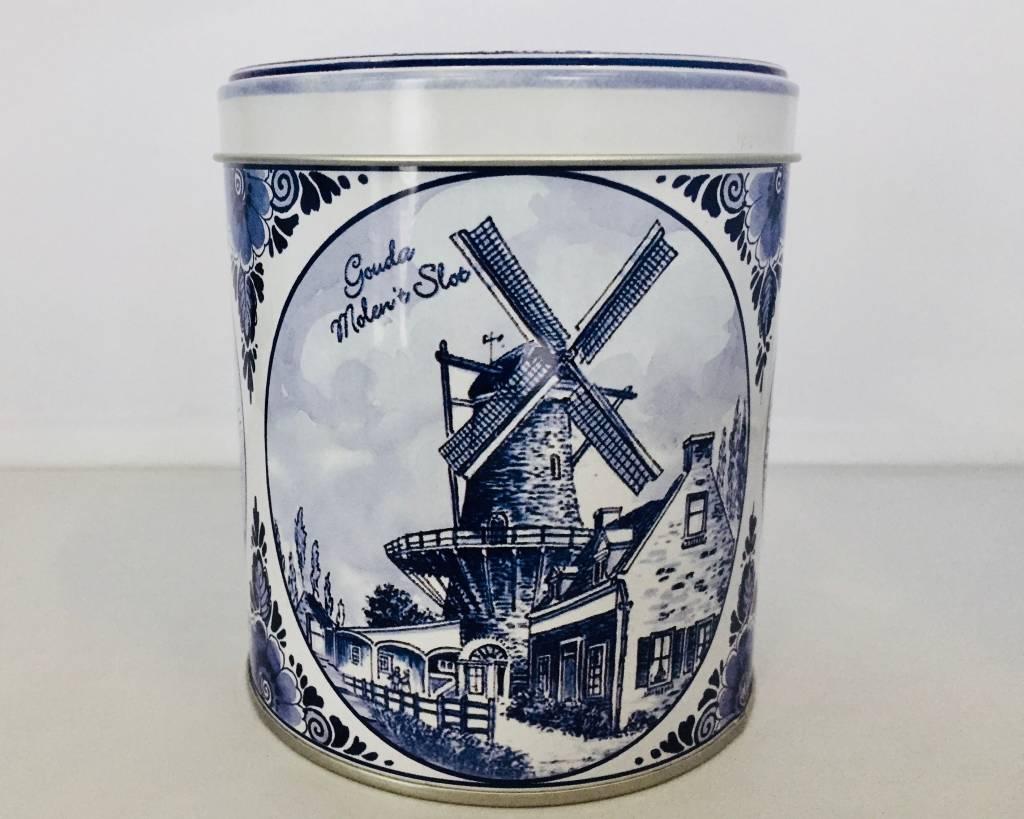 Stroopwafels in Blik Delftsblauw Gouda
