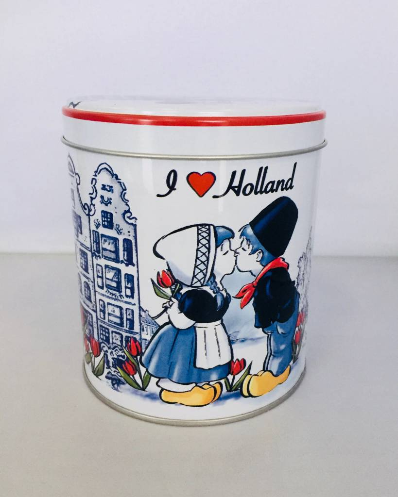 Stroopwafels in Blik I love Holland