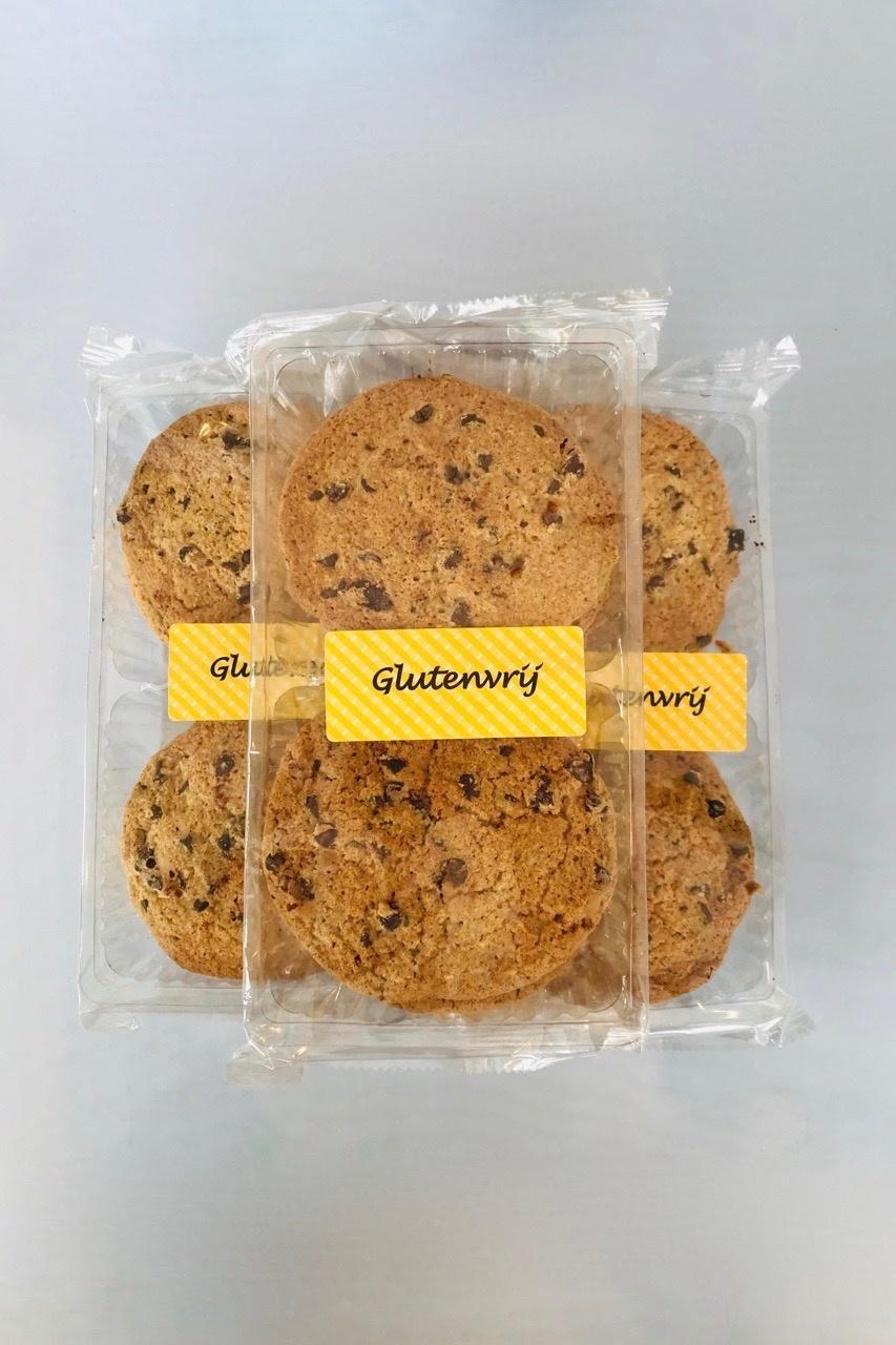 Bio glutenvrije Chocolade chipkoeken