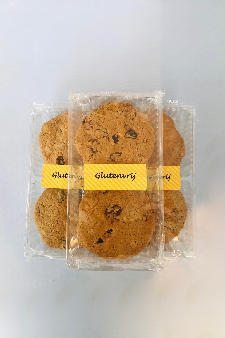 Bio glutenvrije Vruchtenkoeken