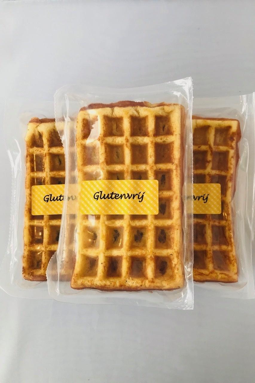 Bio glutenvrije Belgische wafels