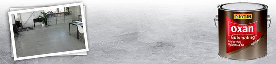 Kantoorvloer verven van Guru