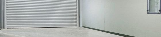 Ruwe garagevloer