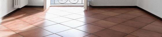 Bakstenen vloer verven