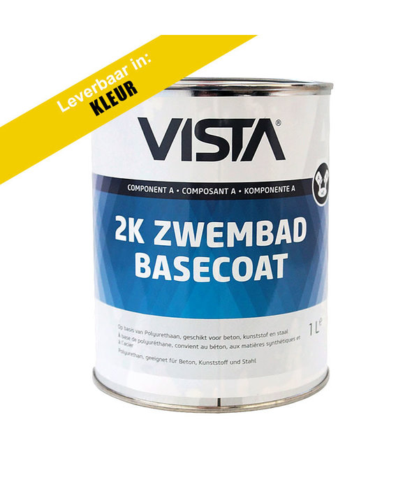 Vista Coatings Zwembadverf Basecoat