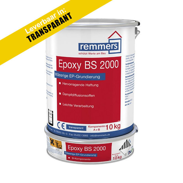 Remmers Epoxy BS 2000 transparant