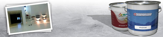 Linoleumvloer verven