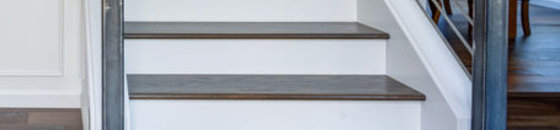 Linoleum trap verven