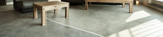 Betonlook vloer in nieuwbouw