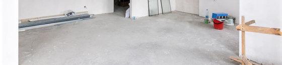 Betonlook voor pleistervloer