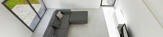 Betonvloer met vloerverwarming