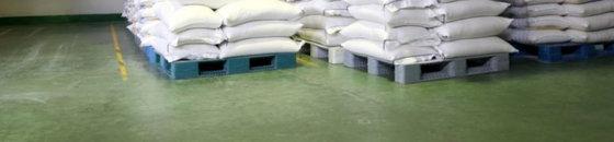 Magazijnvloer voorbehandelen