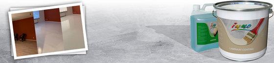 Laminaatvloer coaten