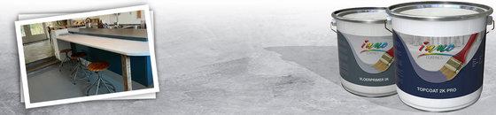 Zandcementvloer verven