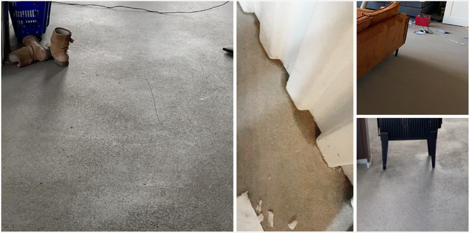 Betonlook vloer verven
