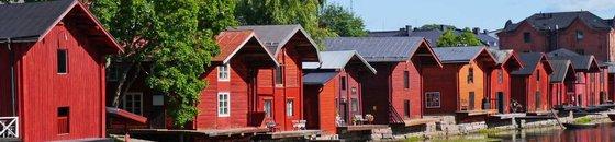 Fins houten huis verven