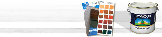 Drywood Bioleum kleurenkaart
