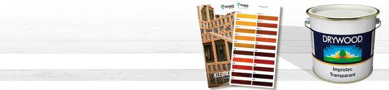 Drywood Kleuren - Transparante kleurenkaart