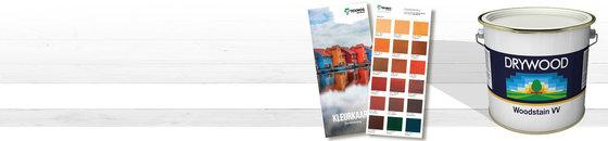 Drywood kleuren - Woodstain VV kleurenkaart
