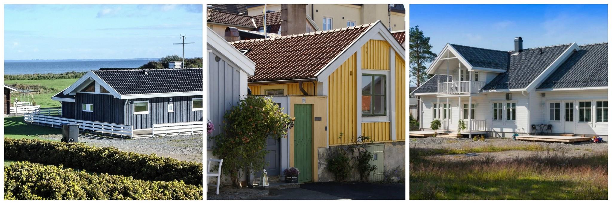 Zweeds huis verven
