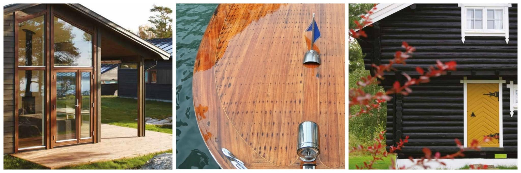 Waterbestendige houtverf