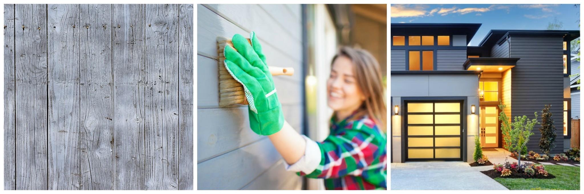 Vergrijzen van hout - Houten huis verven