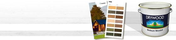 Drywood Kleuren -  Bioleum Kleurenkaart