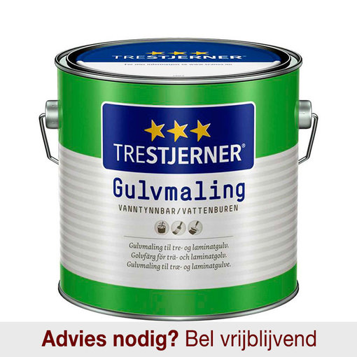 Trestjerner Gulvmaling