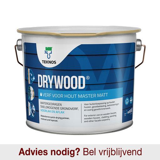 Drywood Verf voor Hout Master Mat