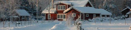 Zweeds Huis Dekkend Beitsen
