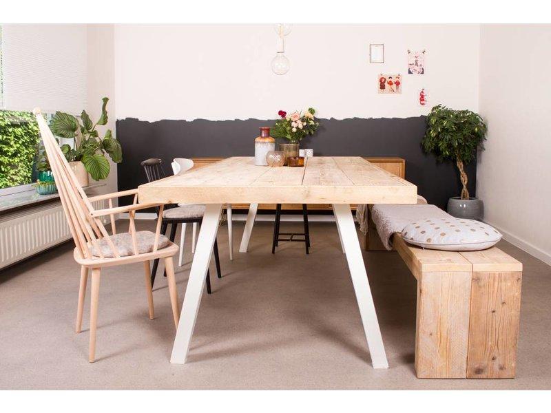 "PURE wood design ""Arendal"" Table scandinave en pin recyclé"