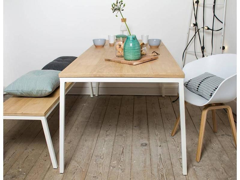 Nieuw || eikenhouten tafels bij Pure Wood Design