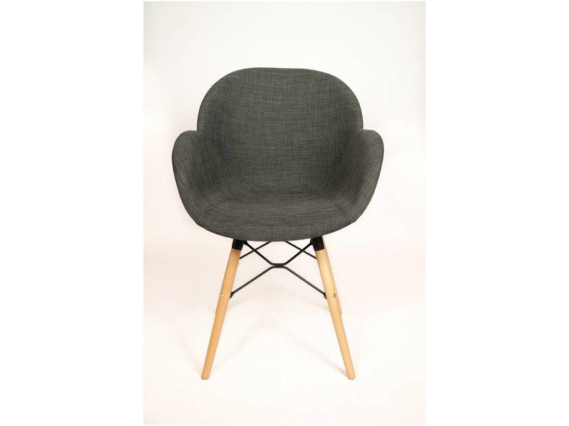 PURE Blend CHAISE BLEND S02 - chaise avec accoudoirs - base cross