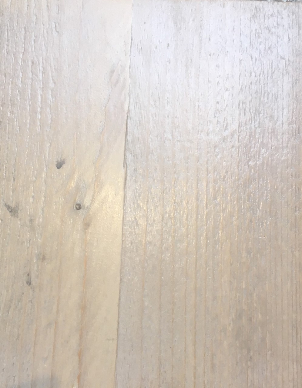 steigerhout kleurloze impregnering en matte vernis